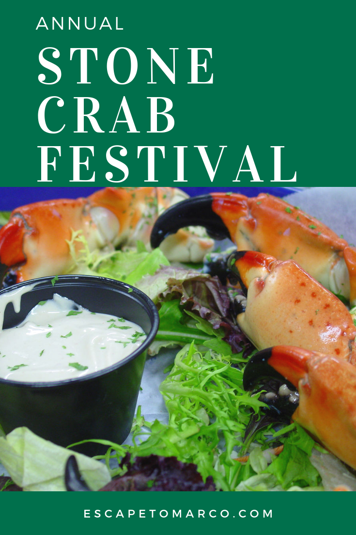 The Seafood Festival in Everglades City might make the list of the top 3 seafood festivals in Florida. The event is free and attracts upwards of 50,000 people every year.