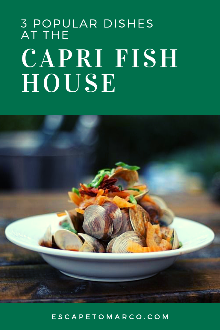 There are so many options at Capri Fish House, it can be hard to choose. Fortunately, we've done the work for you. Here is a list of the top three most popular dishes at Capri Fish House in Naples, Florida.