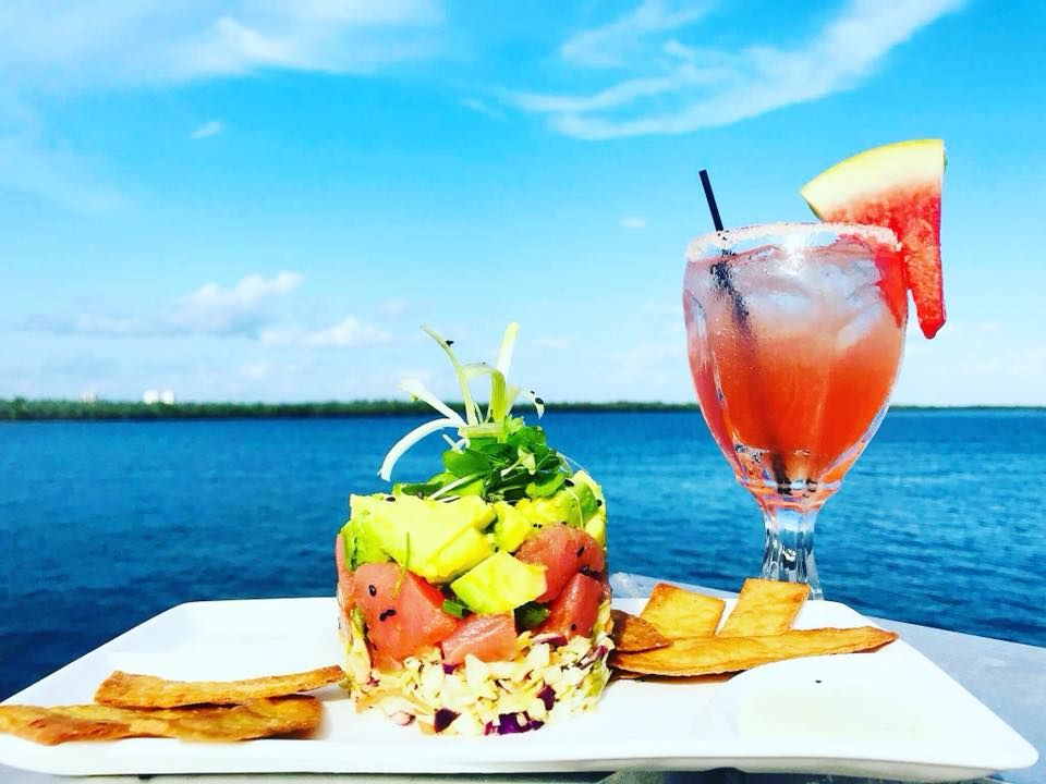 ahi tuna poke marco island waterfront restaurant