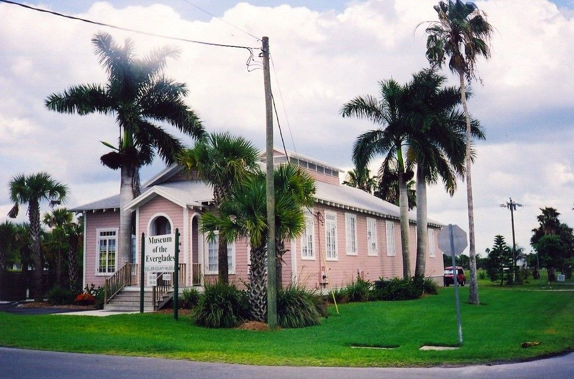 Outside image of the Museum of the Everglades