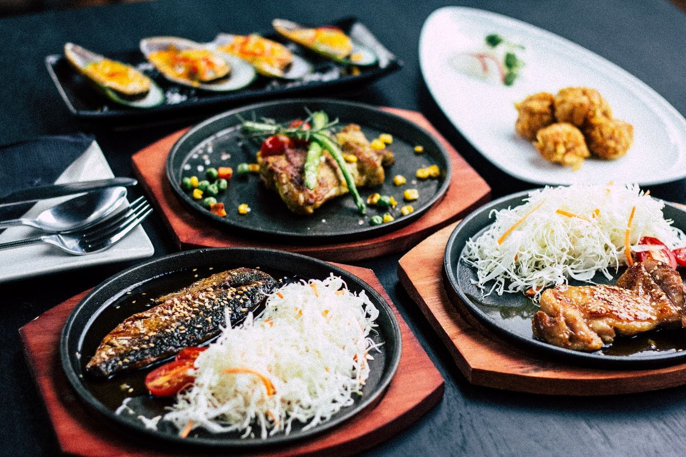Variety of dishes served during restaurant week in Marco Island