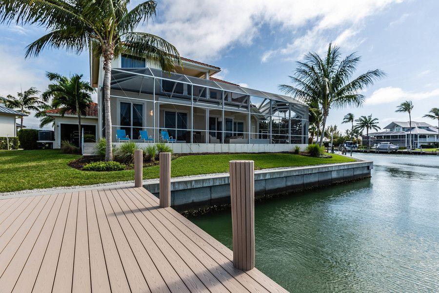 back yard of Marco Island rental